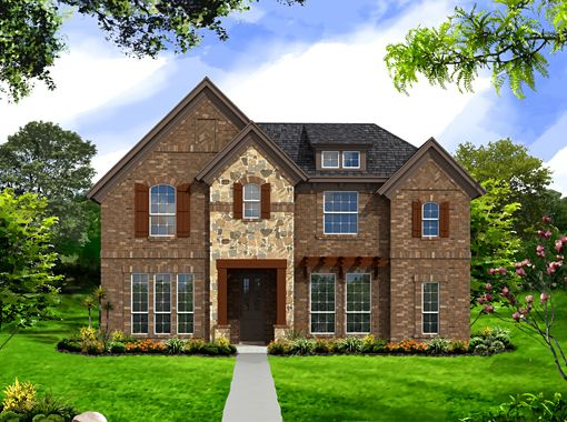 Sedona Collection - Austin Ridge at Lonestar Ranch: Frisco, TX - Landon Homes of Texas