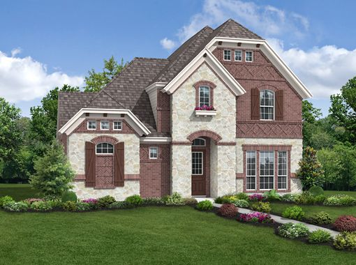 Belmont Collection - Austin Ridge at Lonestar Ranch: Frisco, TX - Landon Homes of Texas