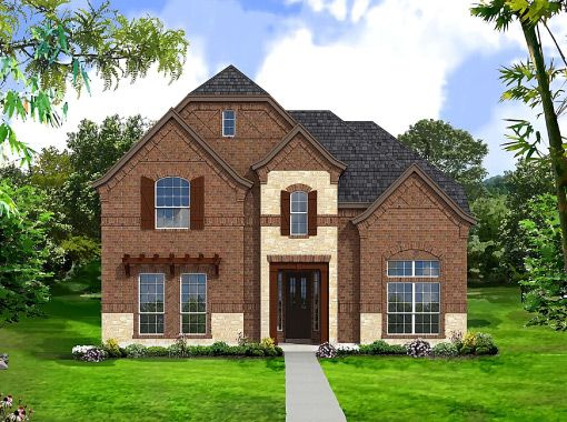 Bellagio Collection - Austin Ridge at Lonestar Ranch: Frisco, TX - Landon Homes of Texas