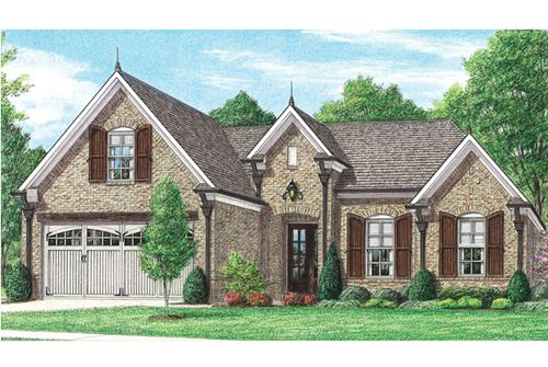 College Crossing by Regency Homebuilders in Memphis Tennessee
