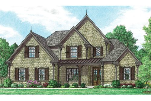 Rolling Meadows by Regency Homebuilders in Memphis Mississippi