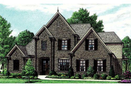Heritage Oaks by Regency Homebuilders in Memphis Tennessee