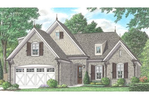 Fountain Brook by Regency Homebuilders in Memphis Tennessee