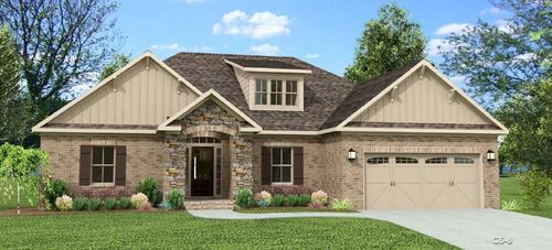 Heritage Brook by Legacy Homes in Huntsville Alabama