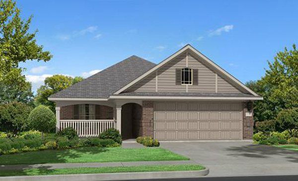 Laurel 3423 - Bay River Colony : Brookstone and Southwest Collections: Baytown, TX - Lennar