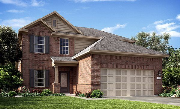 Iris 3433 - Bay River Colony : Brookstone and Southwest Collections: Baytown, TX - Lennar