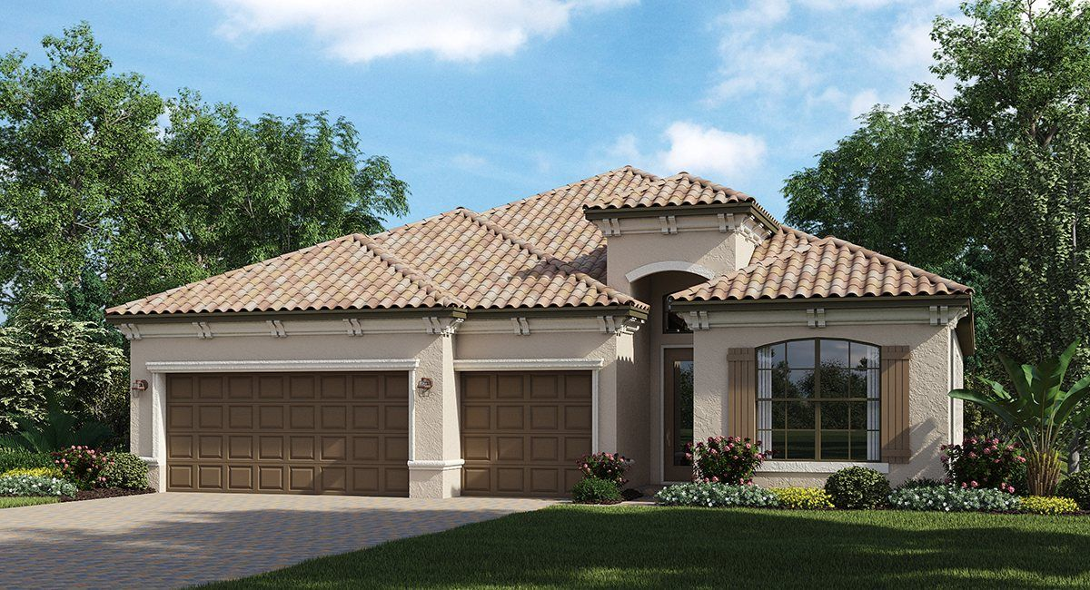 Single Family for Sale at Fiddler's Creek : Classic Homes - The Stanford 9492 Carmini Court Naples, Florida 34114 United States