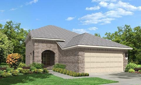 Odessa 2952 - The Trails at Bay Colony : Frontier Collection: Dickinson, TX - Lennar