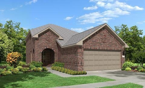 Odessa 2952 - The Trails at Bay Colony : Gulf Coast Collection: Dickinson, TX - Lennar