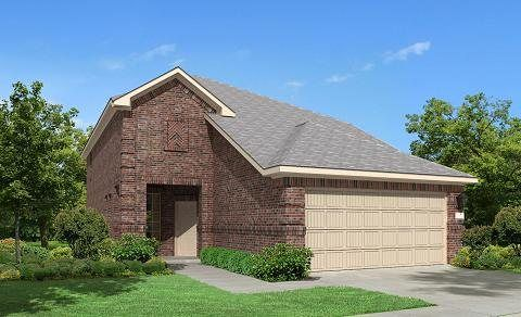 Marathon 2962 - The Trails at Bay Colony : Gulf Coast Collection: Dickinson, TX - Lennar