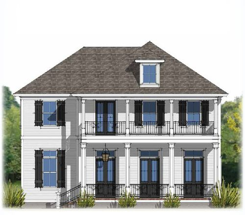 Americana by Level Homes in Baton Rouge Louisiana