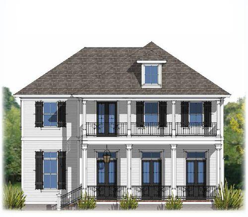 Americana by Level Homes in Baton Rouge Louisiana
