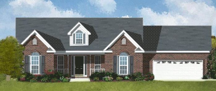The Rosedale - Lockridge Homes - Build On Your Lot - Richmond-Petersburg: Chesterfield, VA - Lockridge Homes
