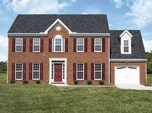 The Buckingham 26 Gar 1 - Lockridge Homes - Build On Your Lot - Richmond-Petersburg: Chesterfield, VA - Lockridge Homes