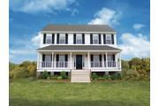 The Buckingham 26 - Lockridge Homes - Build On Your Lot - Richmond-Petersburg: Chesterfield, VA - Lockridge Homes