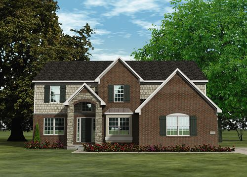 Milton Meadows by Lombardo Homes in Detroit Michigan