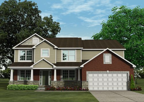 Pine Crest by Lombardo Homes in Detroit Michigan