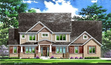 East Hampton Woods by Lombardo Homes-STL in