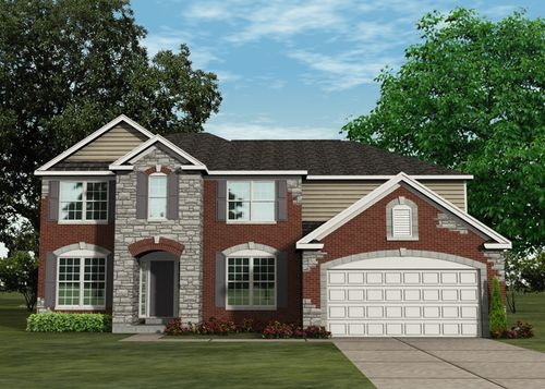house for sale in Pennial Park by Lombardo Homes-STL