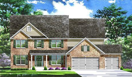 Estates at Talbridge by Lombardo Homes-STL in