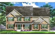 The Denali II - East Hampton Woods: Wentzville, MO - Lombardo Homes-STL