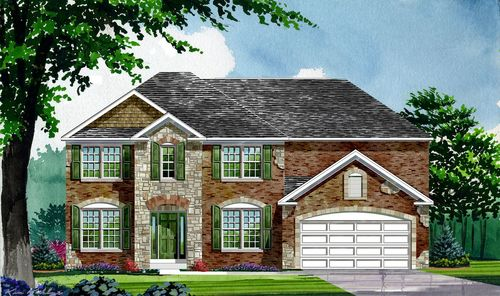 Meadow at Springhurst by Lombardo Homes in Indianapolis Indiana