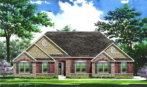 Cedar Bend by Lombardo Homes in Indianapolis Indiana