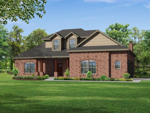 Elk Hollow Estates by Riverside Homebuilders in Fort Worth Texas