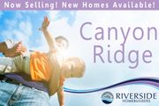 homes in Canyon Ridge by Riverside Homebuilders