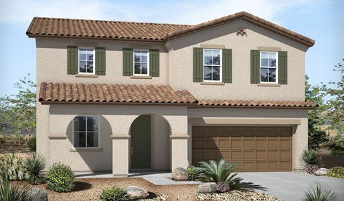 Veranda at Villages at Rancho El Dorado by Richmond American Homes in Phoenix-Mesa Arizona