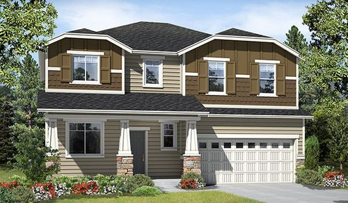 Haven at Harbor Hill by Richmond American Homes in Tacoma Washington