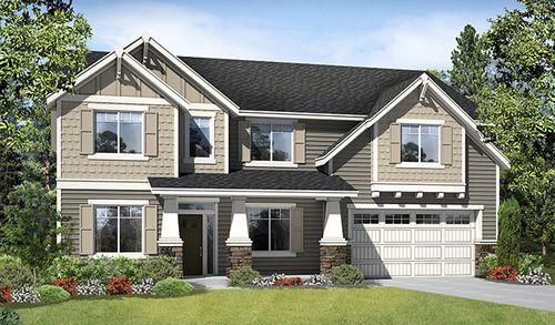 Woodmont Vista by Richmond American Homes in Bremerton Washington