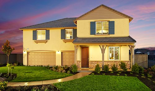 Corinthia at Kavala Ranch by Richmond American Homes in Sacramento California