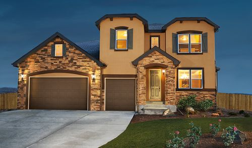 Remington Hill at Jackson Creek by Richmond American Homes in Colorado Springs Colorado