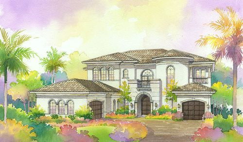 house for sale in The Oaks at Boca Raton by Richmond American Homes