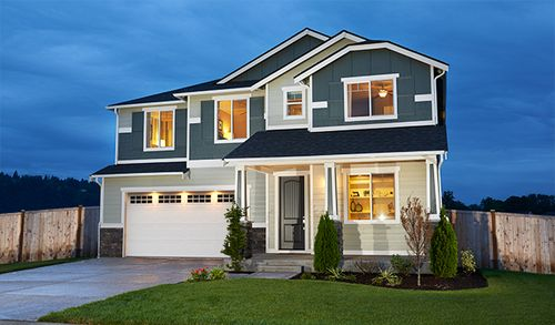 Rivers Edge by Richmond American Homes in Tacoma Washington