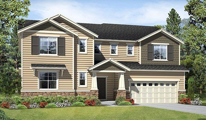 Creekstone estates richmond american homes for American classic homes sammamish
