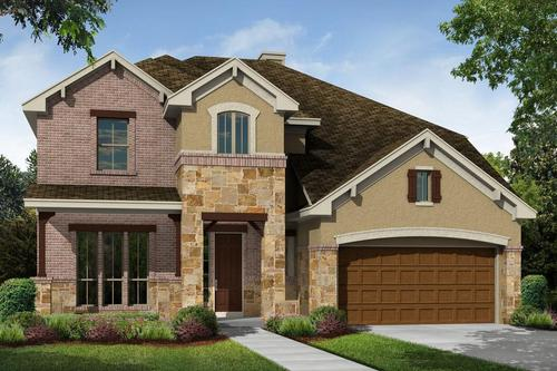 Highlands At Mayfield Ranch by M/I Homes in Austin Texas