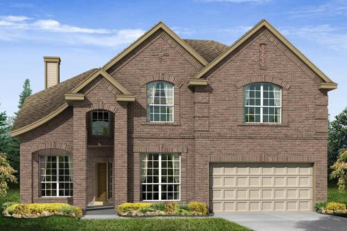 Long Meadow Farms - Bishop's Trace by M/I Homes in Houston Texas