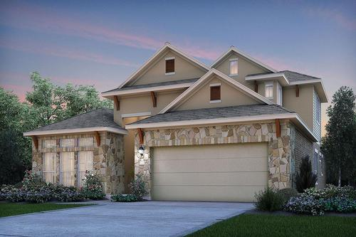 Parkside At Mayfield Ranch - Heritage by M/I Homes in Austin Texas