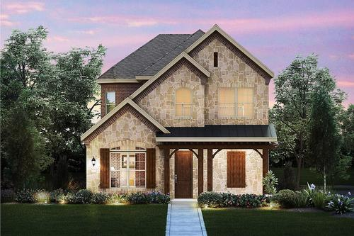 Creeks of Timber Brook by M/I Homes in Dallas Texas