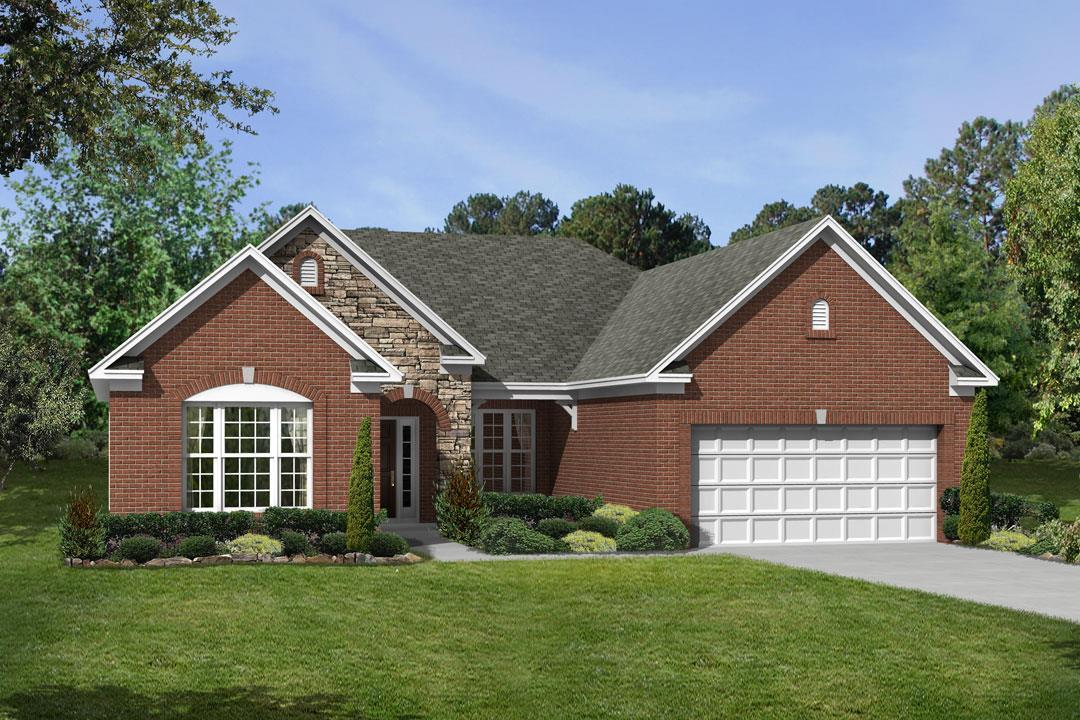Clayton - Woods at Indian Lake: Mc Cordsville, IN - M/I Homes
