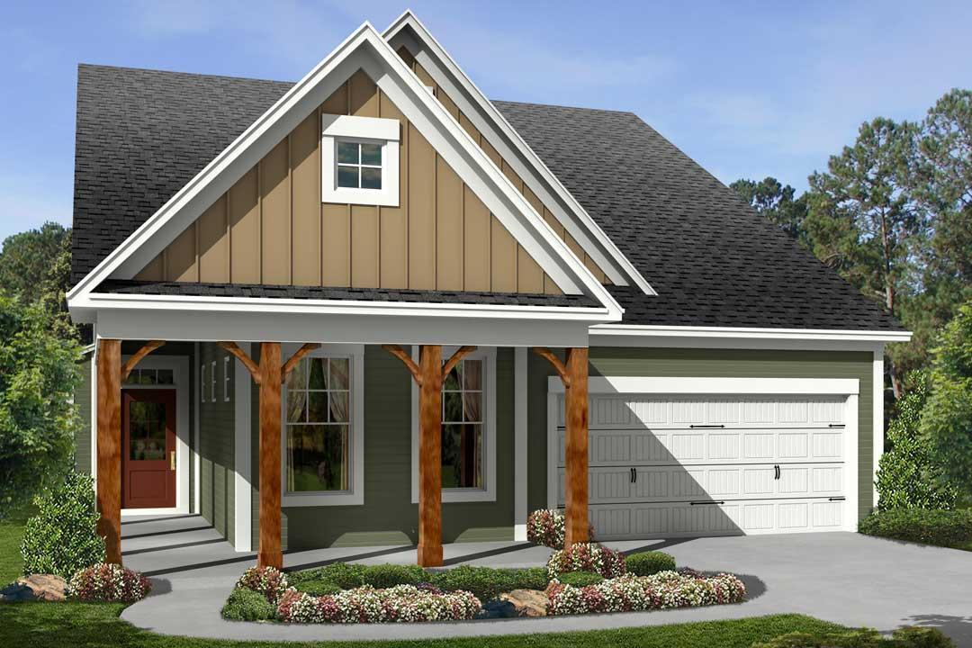 Villa Camellia II - Longleaf At Flowers Plantation: Clayton, NC - M/I Homes