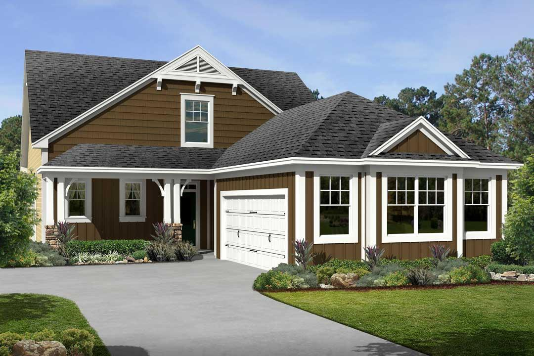 Villa Nandina II - Longleaf At Flowers Plantation: Clayton, NC - M/I Homes