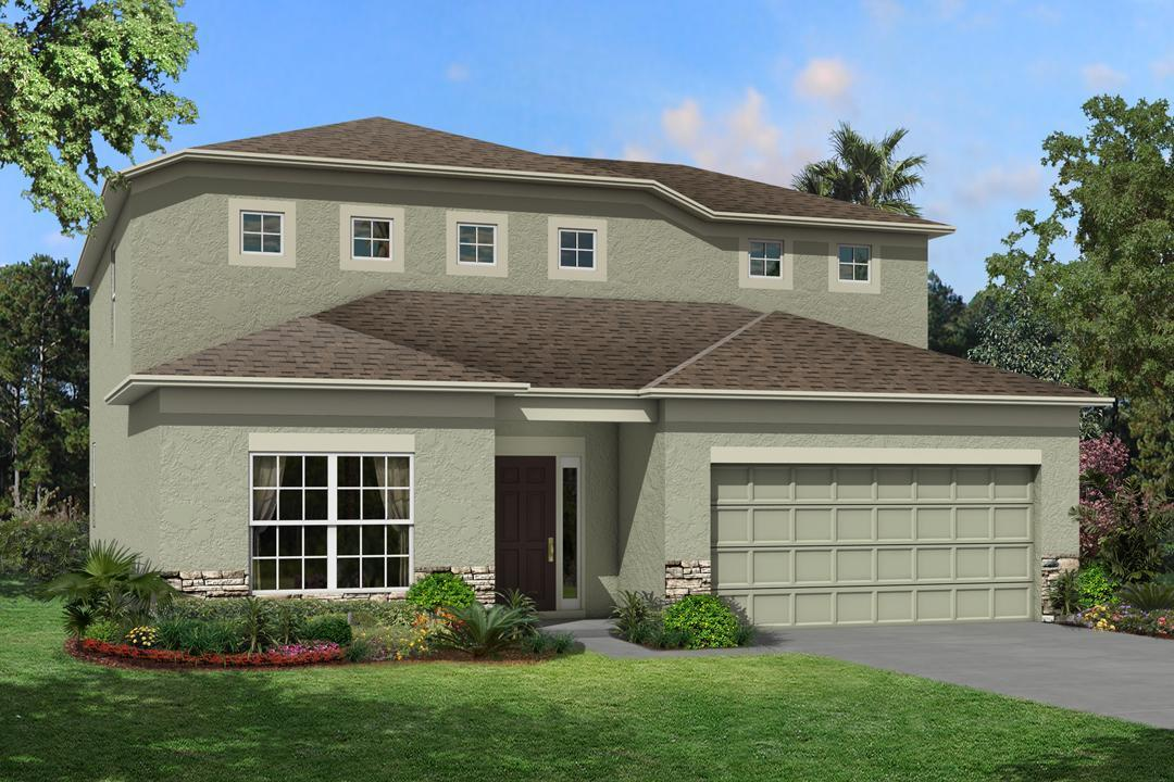 Granada II - Misty Ridge: Brandon, FL - M/I Homes