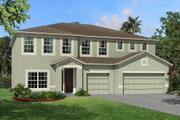 Santina II - The Oaks at Kingsway: Brandon, FL - M/I Homes