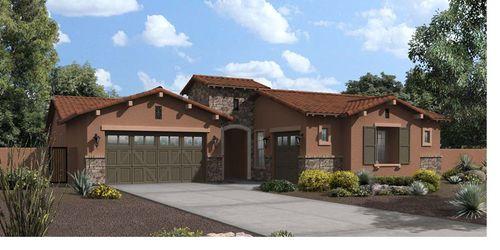 Trestle Place at Bridges at Gilbert by Maracay Homes in Phoenix-Mesa Arizona