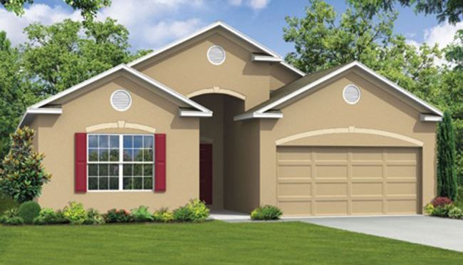Arlington - Mallory Square: Deland, FL - Maronda Homes of Central FL