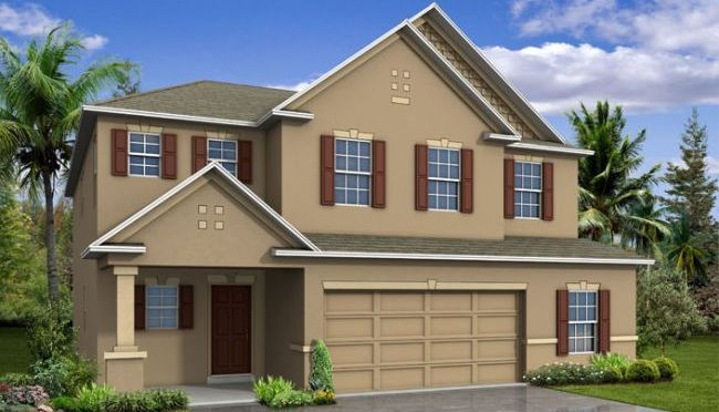 Columbus - Berkley Ridge: Auburndale, FL - Maronda Homes
