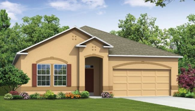 Hampton - Berkley Ridge: Auburndale, FL - Maronda Homes